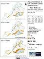 New York City Population Density in 5, 7, 10 meter above sea level Low Elevation Coastal Zones (LECZ) (5457914280).jpg