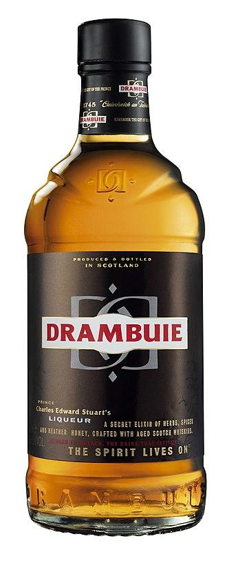 Drambuie - Image: New drambuie bottle
