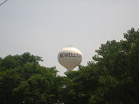 Newellton, LA, Water Tower IMG 1272.JPG
