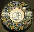 Ngv, maiolica di casteldurante, piatto, 1515-20.JPG