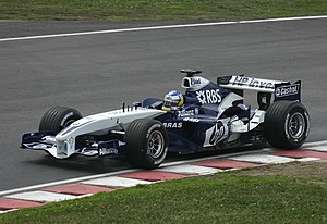 Nick Heidfeld - Heidfeld driving the FW27 for Williams at the 2005 Canadian Grand Prix.