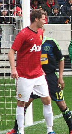 Nick Powell - Powell playing for Manchester United during pre-season in 2012