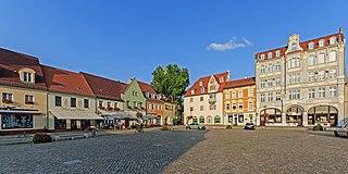 Senftenberg Place in Brandenburg, Germany