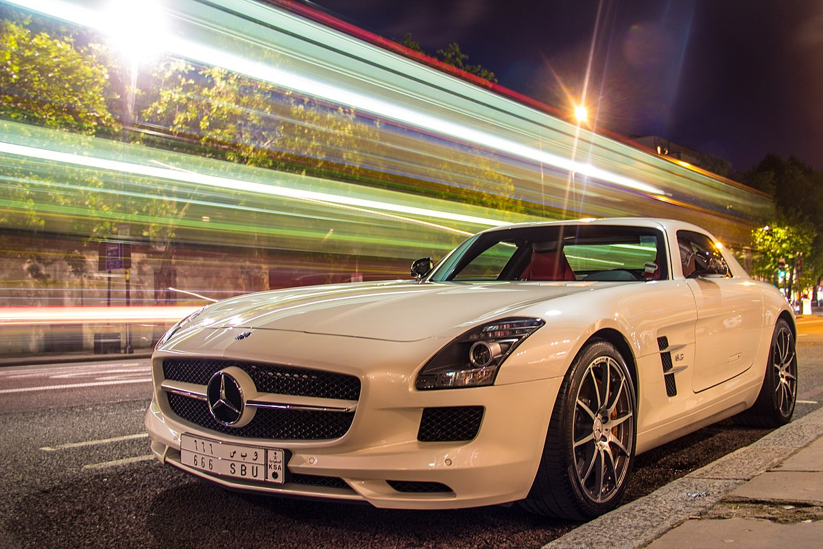 Mercedes-Benz SLS AMG – Wikipedia, wolna encyklopedia