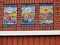 Nijmegen Hatert Elimkerk, 3 van 4 mozaïeken van Ted Felen, 1962.jpg