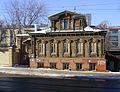 Nizhny Novgorod. Cutted wooden heritage house (Ilyinskaya St, 49).jpg
