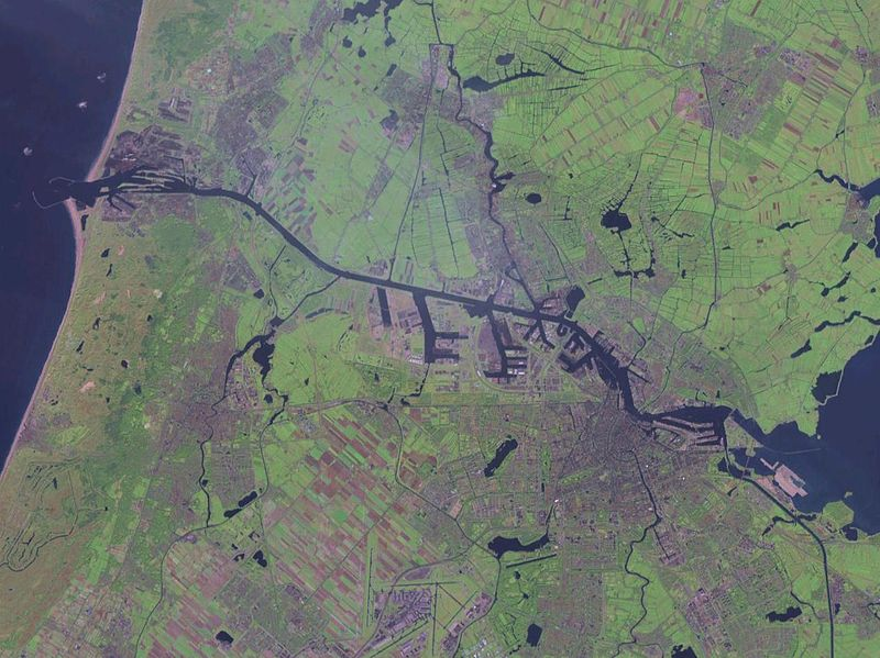 North Sea Canal Amsterdam