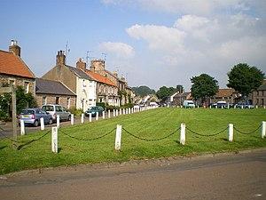 Norham - Image: Norham Village Green geograph.org.uk 911561