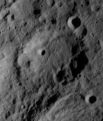 Pawsey (crater) - LRO WAC image