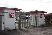 Normannia-Stadion Schwäbisch Gmünd Haupteingang