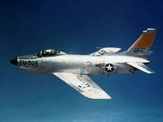 538th Fighter-Interceptor Squadron - North American F-86D