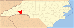 North Carolina Map Highlighting Rutherford County.PNG