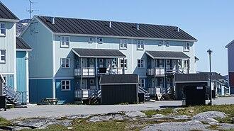 Nuussuaq (district) - Modern housing in Nuussuaq