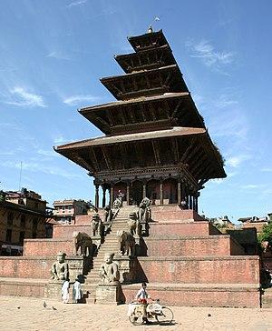 Bhaktapur - Nyatapola Temple
