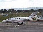 OE-FHA Cessna Citation Mustang 510 Globe Air AG (35273680463).jpg