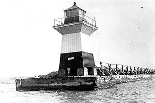 Oak Orchard Light lighthouse in New York, United States