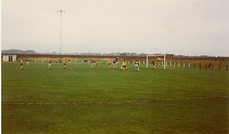 Ochilview Park - A match against Meadowbank Thistle in 1982
