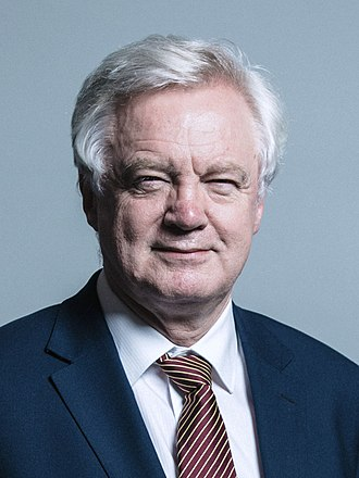 David Davis (British politician) - Image: Official portrait of Mr David Davis crop 2