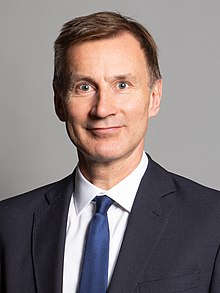 Official portrait of Rt Hon Jeremy Hunt MP crop 2.jpg