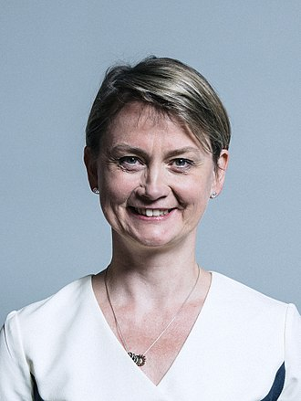 Labour Party (UK) leadership election, 2015 - Image: Official portrait of Yvette Cooper crop 2