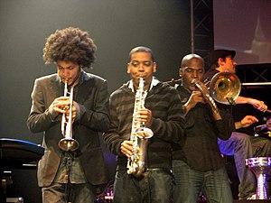 Horn section - Horn section of Ojos de Brujo