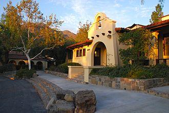 Ojai, California - Old Main at the Thacher School