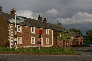 Melmerby, Cumbria - Image: Old Post Office and Pub, Melmerby geograph.org.uk 238389