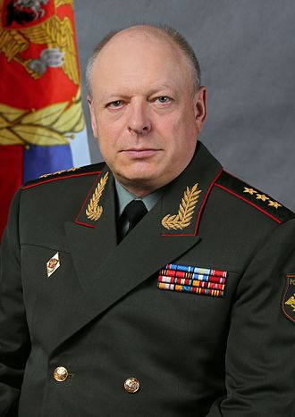 Commander-in-Chief of the Russian Ground Forces - Image: Oleg Salyukov