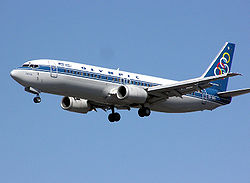 Boeing 737 der Olympic Airlines