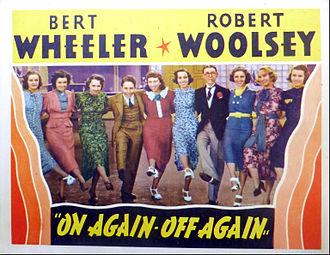 Wheeler & Woolsey - On Again-Off Again lobby card