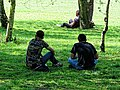 One form of exercise social distancing Tottenham style Covid-19 pandemic 10.jpg
