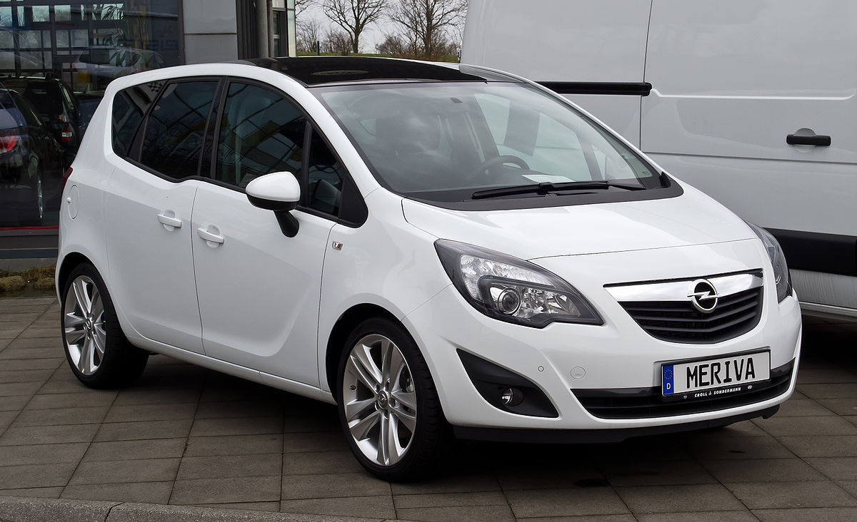 opel meriva b wikipedia. Black Bedroom Furniture Sets. Home Design Ideas