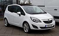 Opel Meriva 1.4 Design Edition (B) – Frontansicht, 11. März 2012, Heiligenhaus.jpg