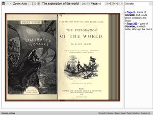 Screenshot Open Library