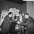 Opening IBM-schaaktoernooi in Hiltonhotel te Amsterdam, voor draaiorgel vlnr, Bestanddeelnr 926-5485.jpg