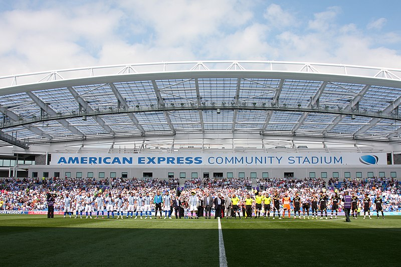 File:Opening of Amex Stadium Brighton 2011 - BHA vs Spurs.jpg