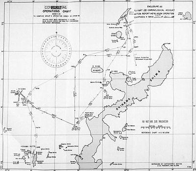 Operations Chart - Action Report Iheya-Aguni Operation