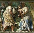 Opere di misericordia 07, Filippo di Lorenzo Paladini, dar da bere agli assetati, 1586, dett 04.jpg