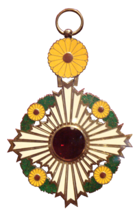 Order of the Chrysanthemum award