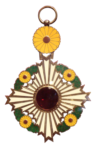 Nakayama Tadayasu - Order of the Chrysanthemum