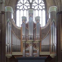 Orgel - Dom zu Münster