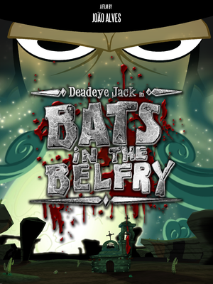 "poster for the original release of ""Bats in the Belfry"""