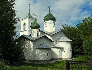 Ostrov, Ostrovsky District, Pskov Oblast - The St. Nicholas Church in Ostrov