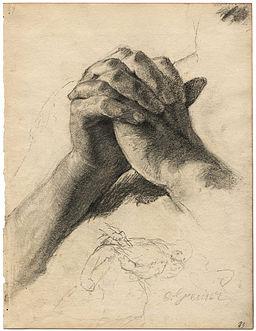 Otto Greiner Betende Hände