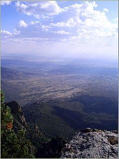 Albuquerque Basin Ecoregion in central New Mexico