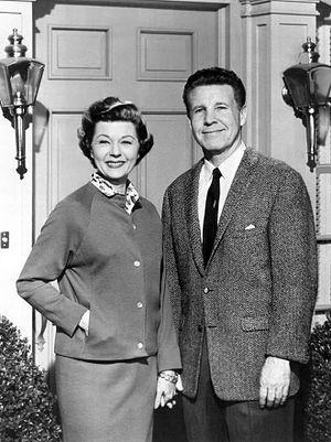 Harriet Nelson - Harriet Nelson with husband Ozzie, 1964