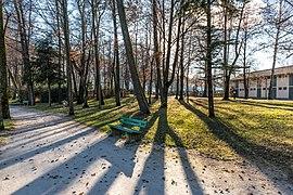 Pörtschach Halbinselpromenade Park im Landschaftsschutzgebiet 08122018 5592.jpg