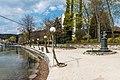 Pörtschach Johannes-Brahms-Promenade Blumenstrand Laternen 11042020 8700.jpg