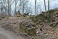 Pörtschach Seeburger Weg Burgruine Leonstein äußeres Tor 22032014 335.jpg