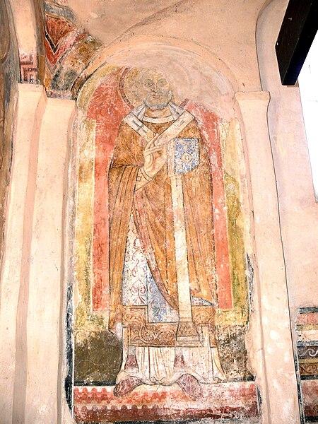 File:Pürgg St.Johannes - Apsis Heiliger 3.jpg